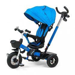 Gyerek háromkerekű bicikli Milly Mally Movi blue