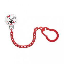 Cumitartó lánc NUK Disney Mickey piros