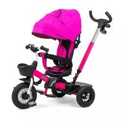 Gyerek háromkerekű bicikli Milly Mally Movi pink