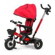 Gyerek háromkerekű bicikli Milly Mally Movi red