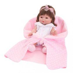 Luxus spanyol baba-kisbaba Berbesa Monika 35cm