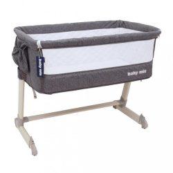 Gyerek utazóágy a szülők ágyához Baby Mix Grey