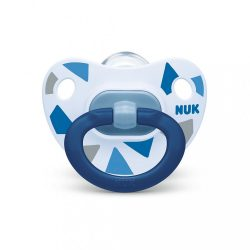 Baba cumi  NUK Happy Days 18+h kék BOX