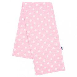 Pamut mintás pelenka New Baby rózsaszín fehér pöttyökkel