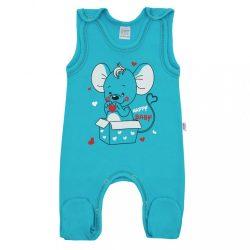 Baba rugdalózó New Baby Mouse türkiz