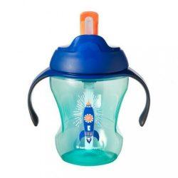 Gyerek itató pohár szívószállal  Tommee Tippee Explora rakéta