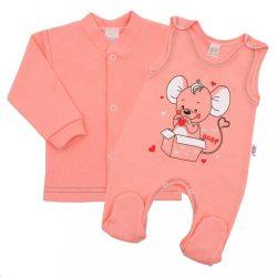 Baba együttes New Baby Mouse lazac szín