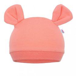 Baba sapka New Baby Mouse lazac szín
