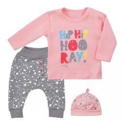 3-részes együttes Koala Hip-Hip rózsaszín