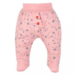 Baba lábfejes nadrág Koala Hip-Hip rózsaszín