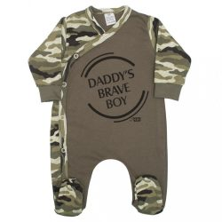 Baba kezeslábas New Baby Army boy