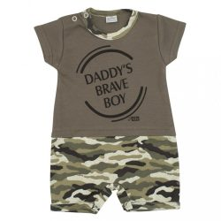 Baba nyári kezeslábas New Baby Army boy