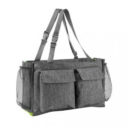 CLEVER BAG Akuku 2 az 1-ben táska babakocsihoz és rendszerező 8 zsebbel