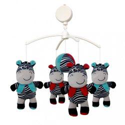 Körhinta a kiságy fölé Baby Mix Zebra