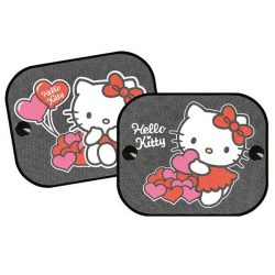 Árnyékoló autóba 2 darab Hello Kitty 2