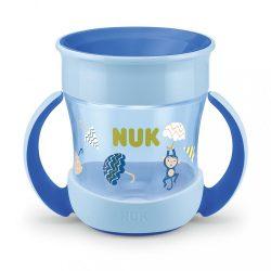 Bájos itató pohár Mini Magic NUK 360° fedéllel kék
