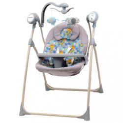 Ringatható, szabályozható pihenőszék körhintával Baby Mix Dino