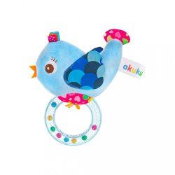 Csörgős plüss játék Akuku madárka