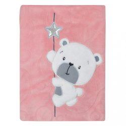 Gyerek pléd Koala Cute Darling rózsaszín