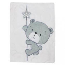 Gyerek pléd Koala Cute Darling fehér