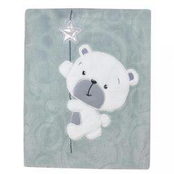 Gyerek pléd Koala Cute Darling szürke