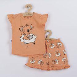 Gyermek nyári pizsama New Baby Dream lazacszín