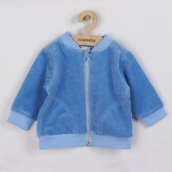 Szemis pulóver szürke New Baby Baby kék