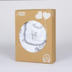 14-részes baba együttes New Baby Little Mouse ECO dobozban