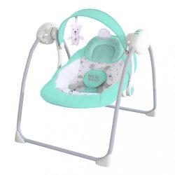 Gyermek hintaszék NEW BABY TEDDY Mint
