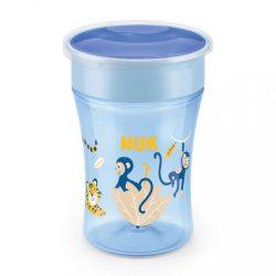 Bájos itató pohár Magic NUK 360° fedéllel blue