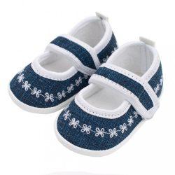 Baba kislányos cipő New Baby Jeans fehér 12-18 h