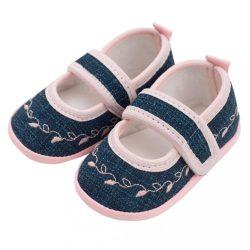 Baba kislányos cipő New Baby Jeans rózsaszín 0-3 h