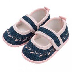 Baba kislányos cipő New Baby Jeans rózsaszín 12-18 h