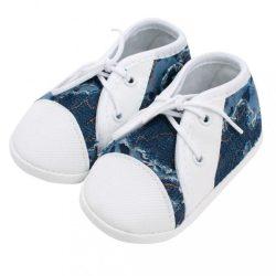 Baba tornacipő New Baby kék 3-6 h
