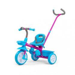 Gyerek háromkerekű bicikli Milly Mally Axel candy