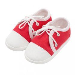 Baba tornacipő New Baby piros 0-3 h