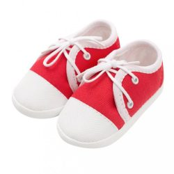 Baba tornacipő New Baby piros 12-18 h