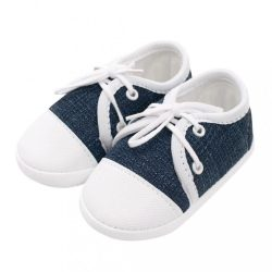 Baba tornacipő New Baby Jeans kék 3-6 h