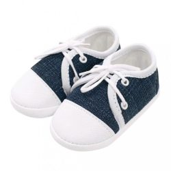 Baba tornacipő New Baby Jeans kék 6-12 h