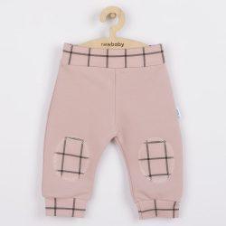 Baba pamut szabadidő nadrág New Baby Cool rózsaszín