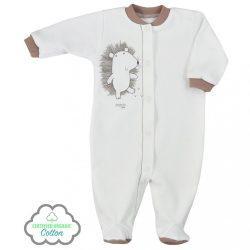 Csecsemő BIO kezeslábas Koala Erdei Barát bézs