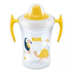 Baba itató pohár NUK Trainer Cup 230 ml sárga