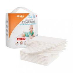 Egyszer használatos higiéniai alátét Akuku Baby Soft 40x60cm 15 darab