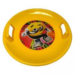 Tányér hócsúszka BAYO 60 cm sárga