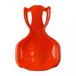 Gyerek műanyag hócsúszka popsi szánkó BAYO COMFORT LINE XL piros