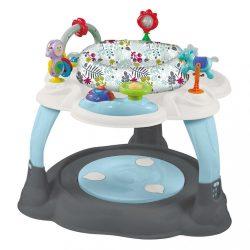 Többfunkciós játékasztal Baby Mix szürke