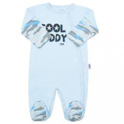 Baba kézeslábas New Baby With Love kék