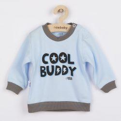 Baba póló New Baby With Love kék