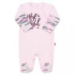 Baba kézeslábas New Baby With Love rózsaszín