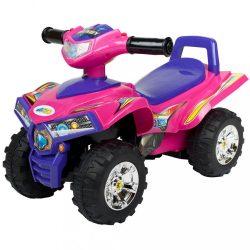 Gyerek négykerekű jármű Bayo pink (a csomagolás sérült)
